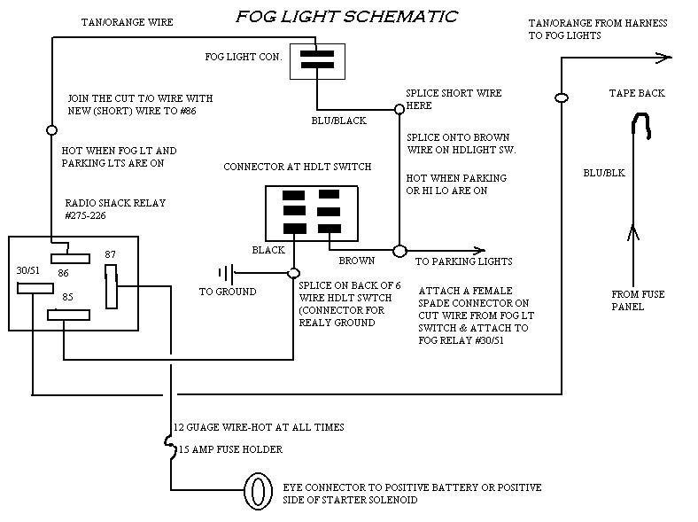 Fog Light Relay