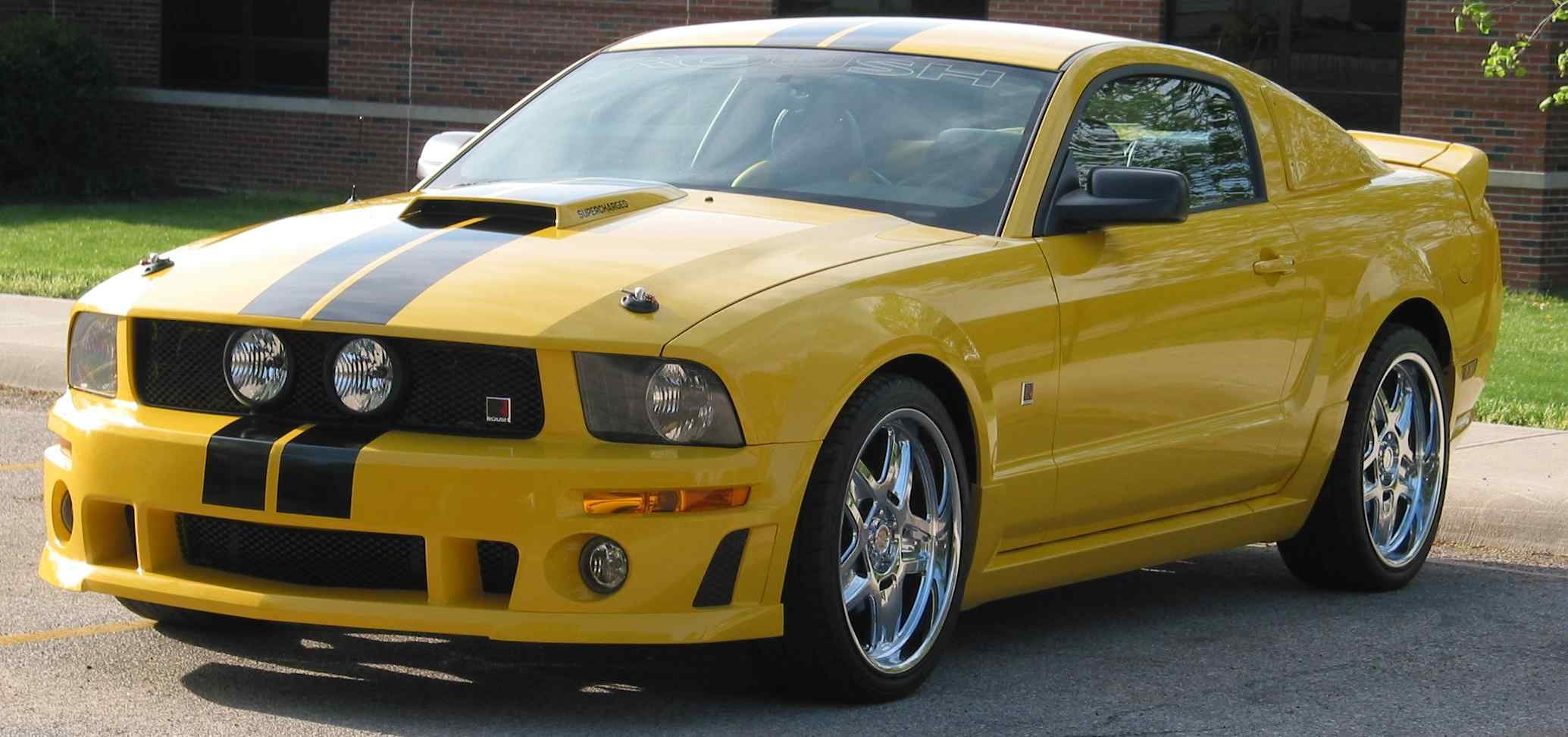 Mustang 2010 Custom >> New owner of 2006 Screaming Yellow Roush - Ford Mustang Forum