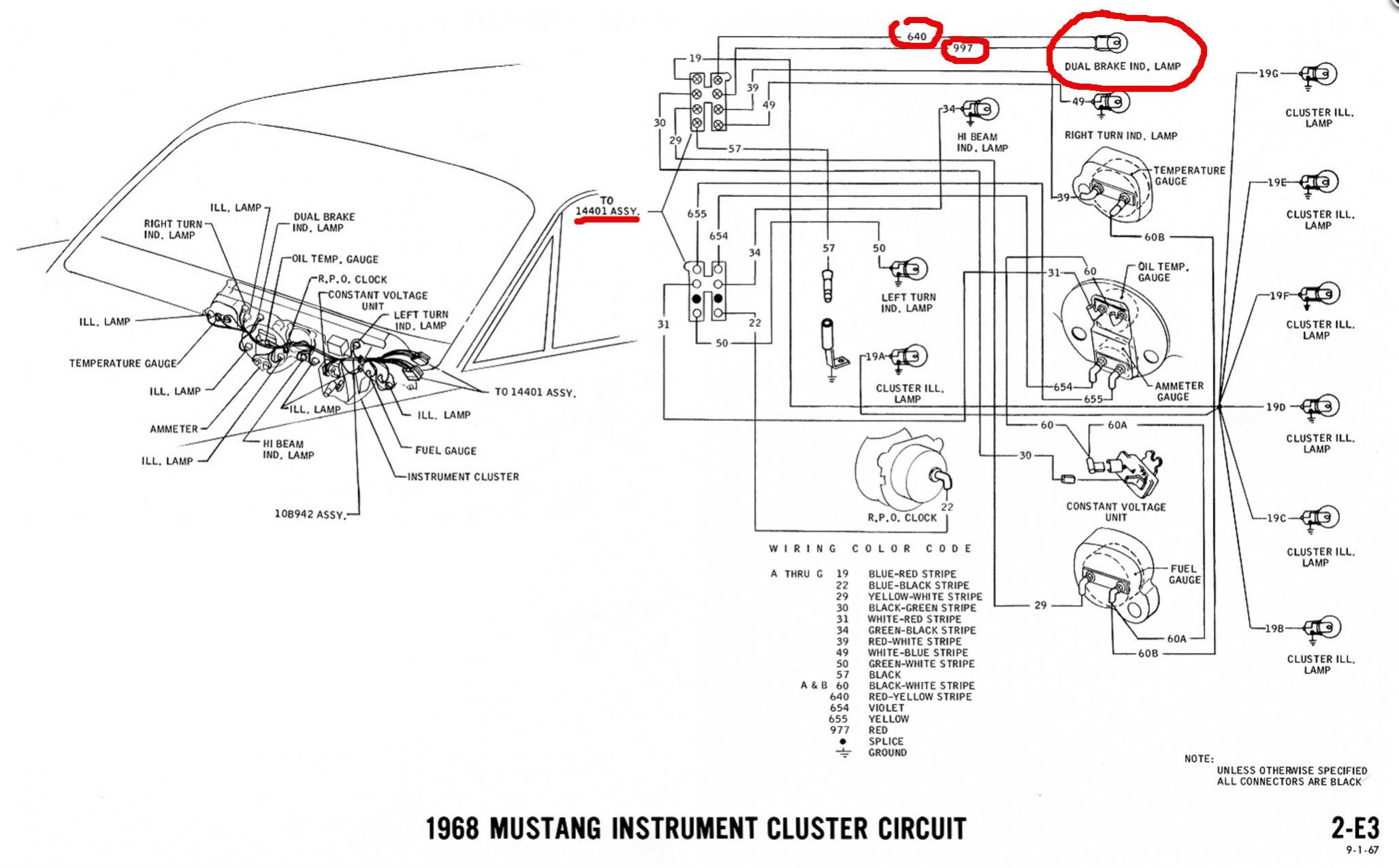 [DIAGRAM_5LK]  Try To Figure This One Out.... | Ford Mustang Forum | Brake Warning Light Wiring Diagram |  | All Ford Mustangs