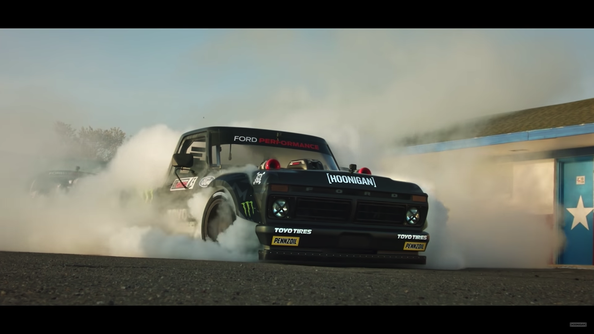 Gymkhana 10: Destroying Tires with Ford Power