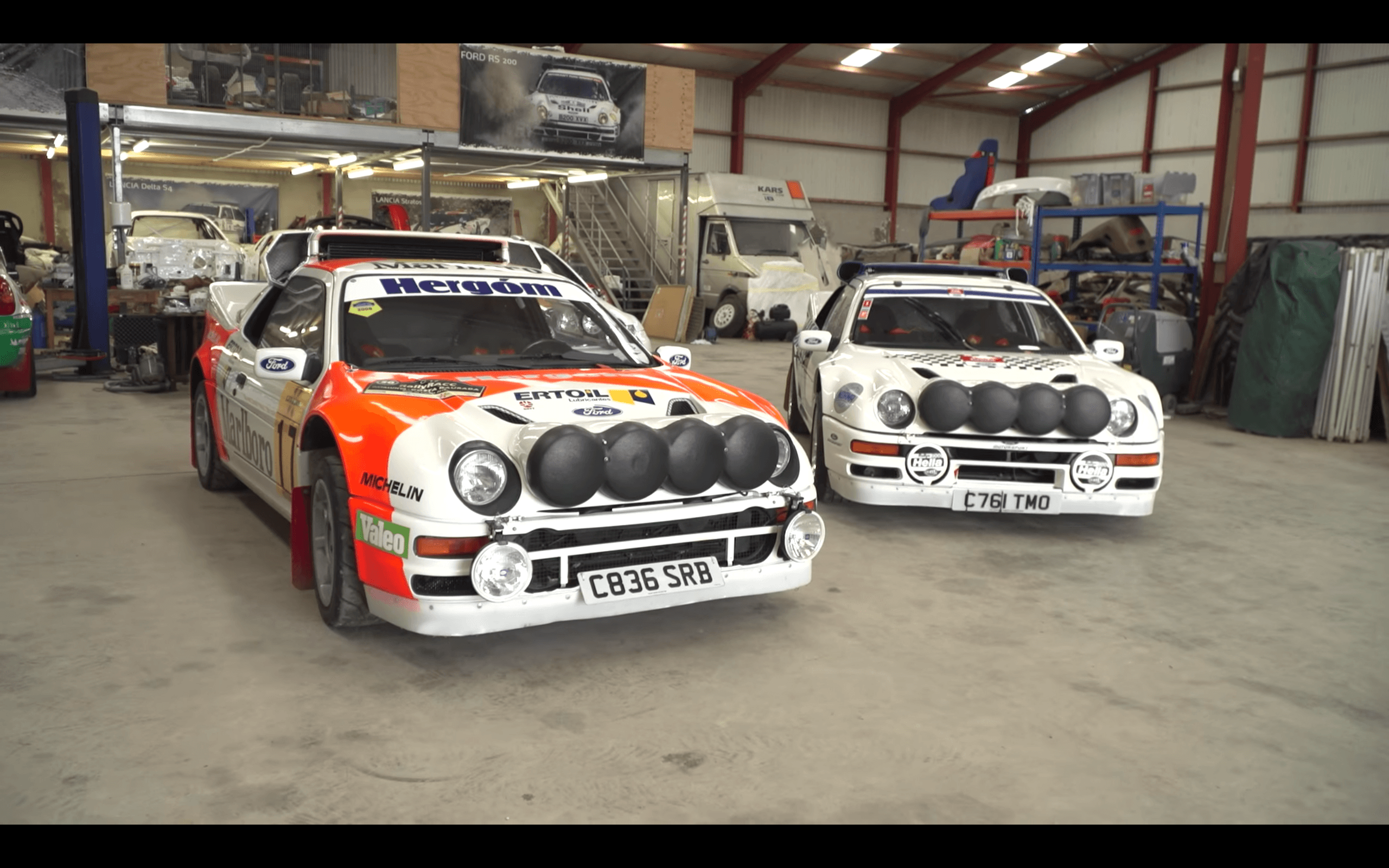 Watch: Ken Block Geek Out Over Some of the '80s' Best Fords