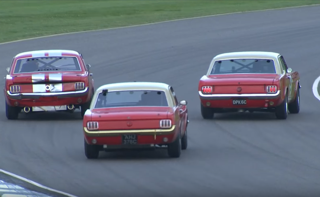 Watch These Mustangs Beat and Bang at Goodwood