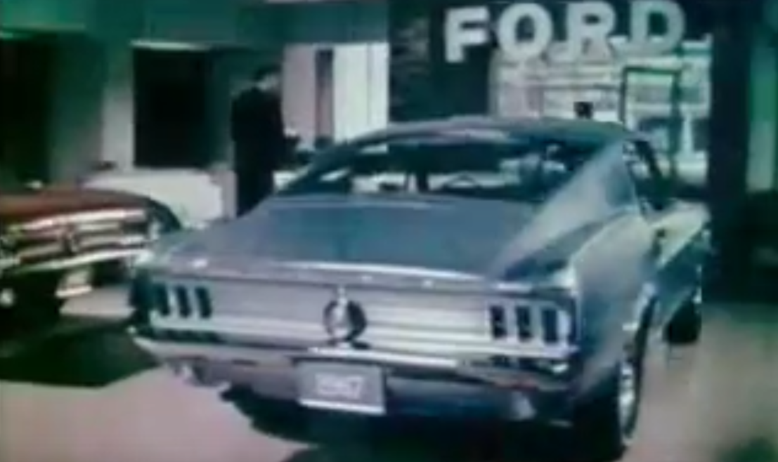 Throwback Thursday 1967 Ford Mustang Fastback Commercial