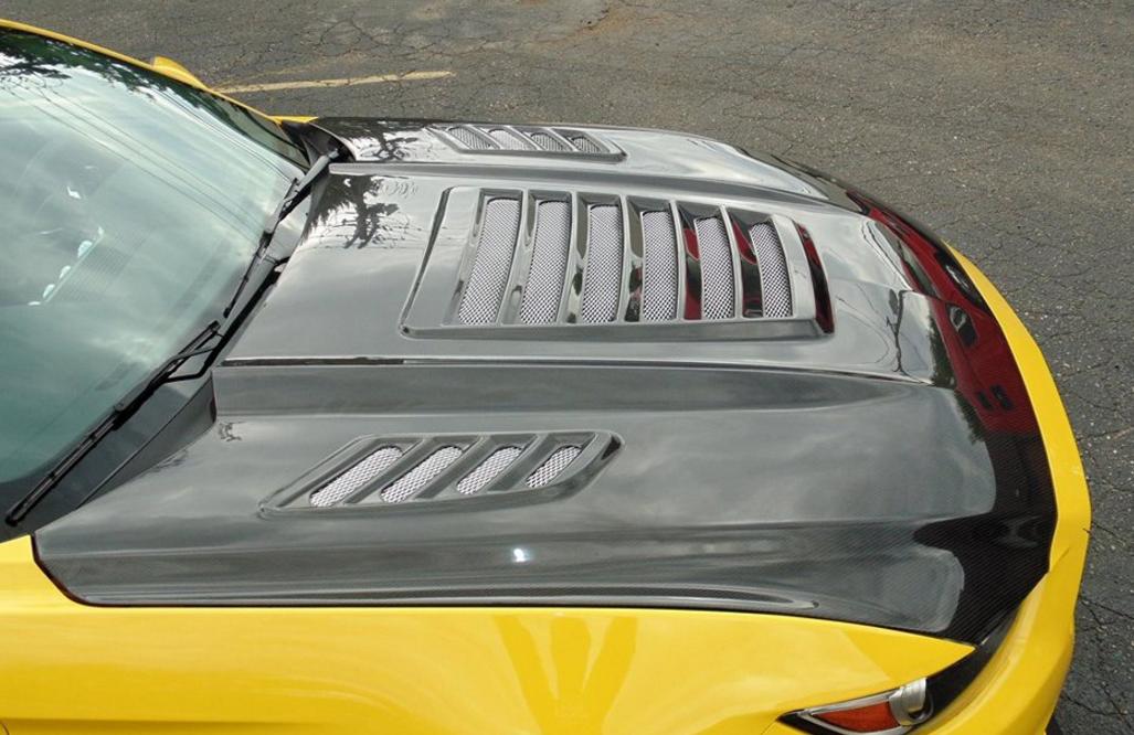 KohR Motorsports is Selling Sweet New Carbon Fiber S550 Hoods