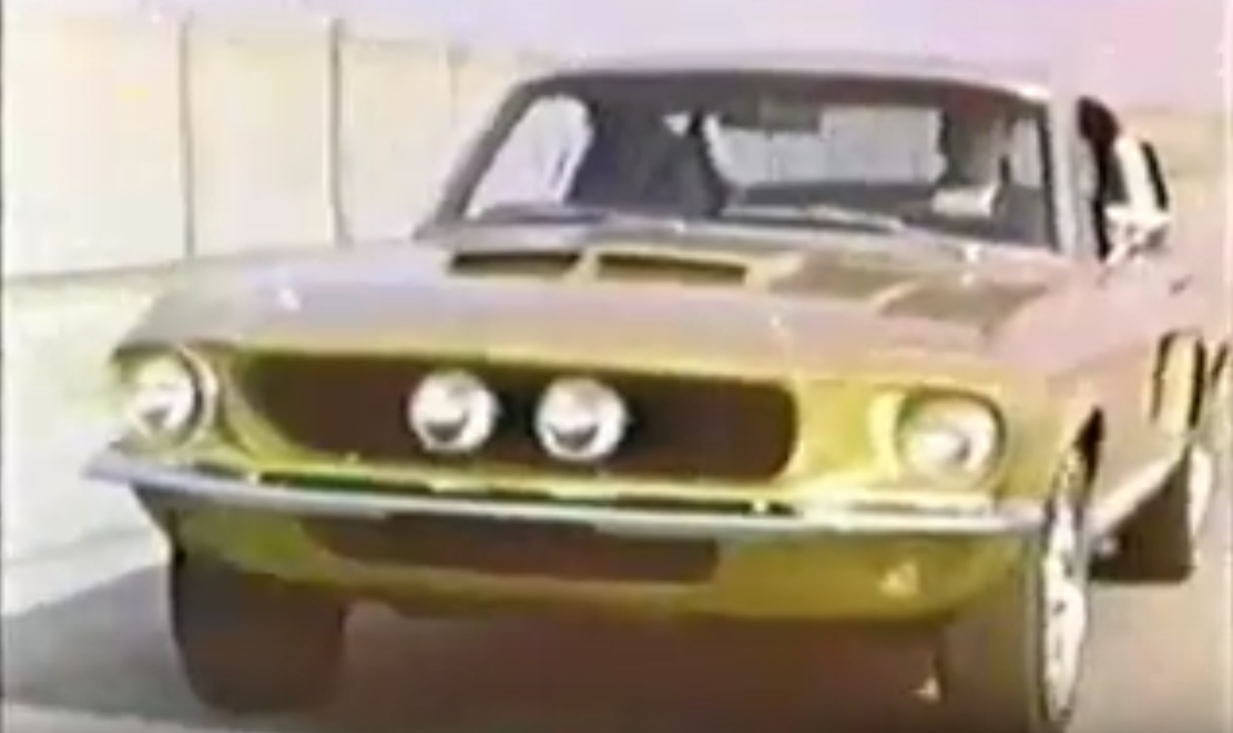 Flashback Friday: Carroll Shelby Pitching Shelby Mustangs