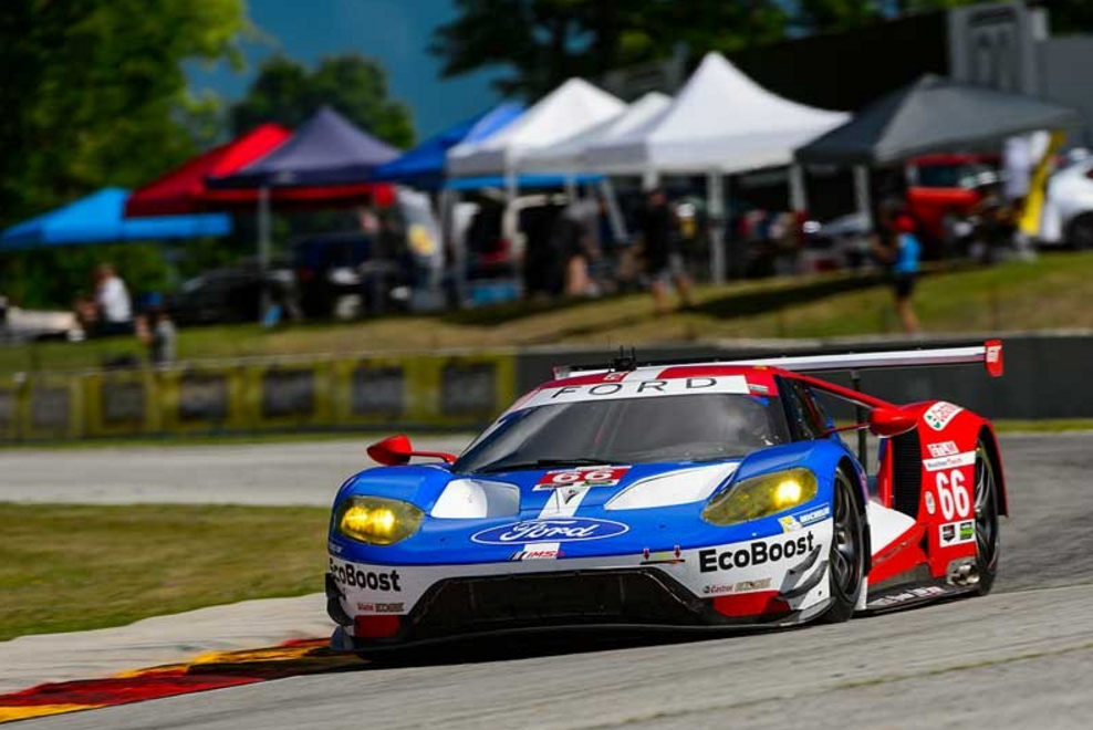 Heartbreak for the No.67 Ford GT at Road America