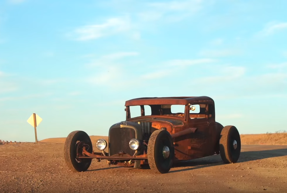 Rat Rod With the Heart of a Mustang