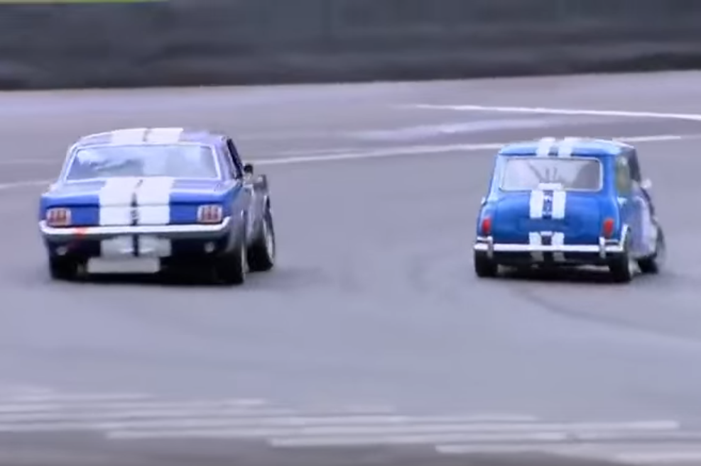 Mustang vs Mini is the Perfect Illustration of Power vs Weight