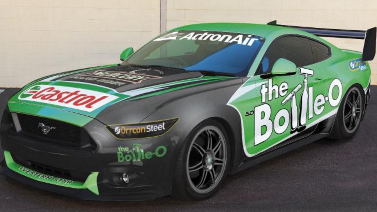 Ford Mustang + Australian V8 Supercars = Maybe