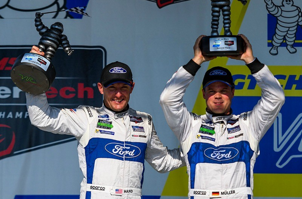 Ford GT Takes 2nd and 4th at VIR