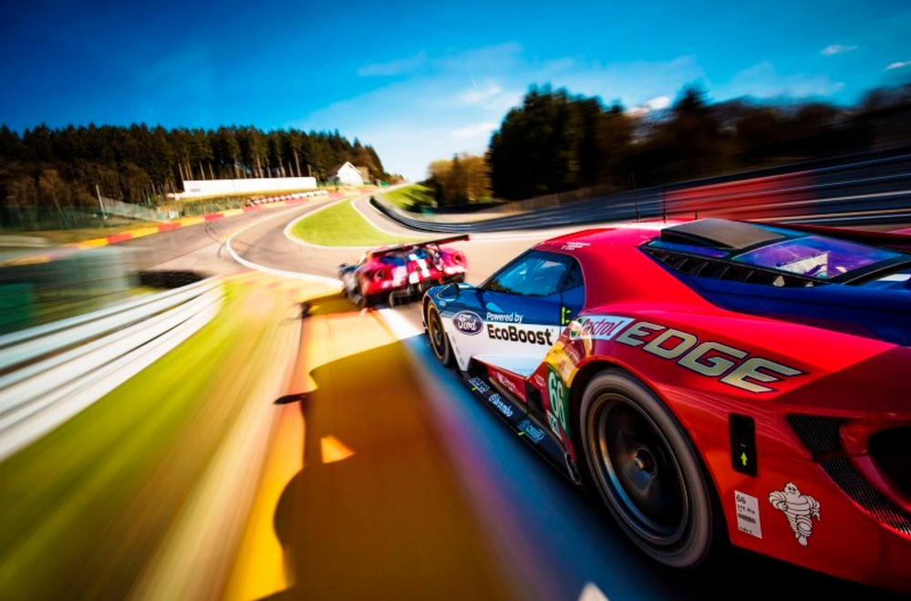 Take a 360 Degree Lap of Spa Inside the Ford GT
