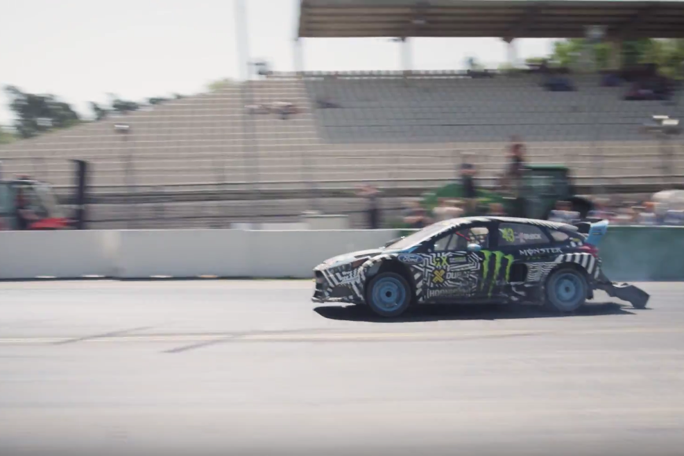 43 Seconds With Ken Block in Hockenheim