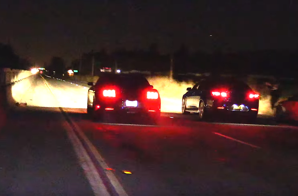 Mustang GT and Chevy SS Showdown on the Street