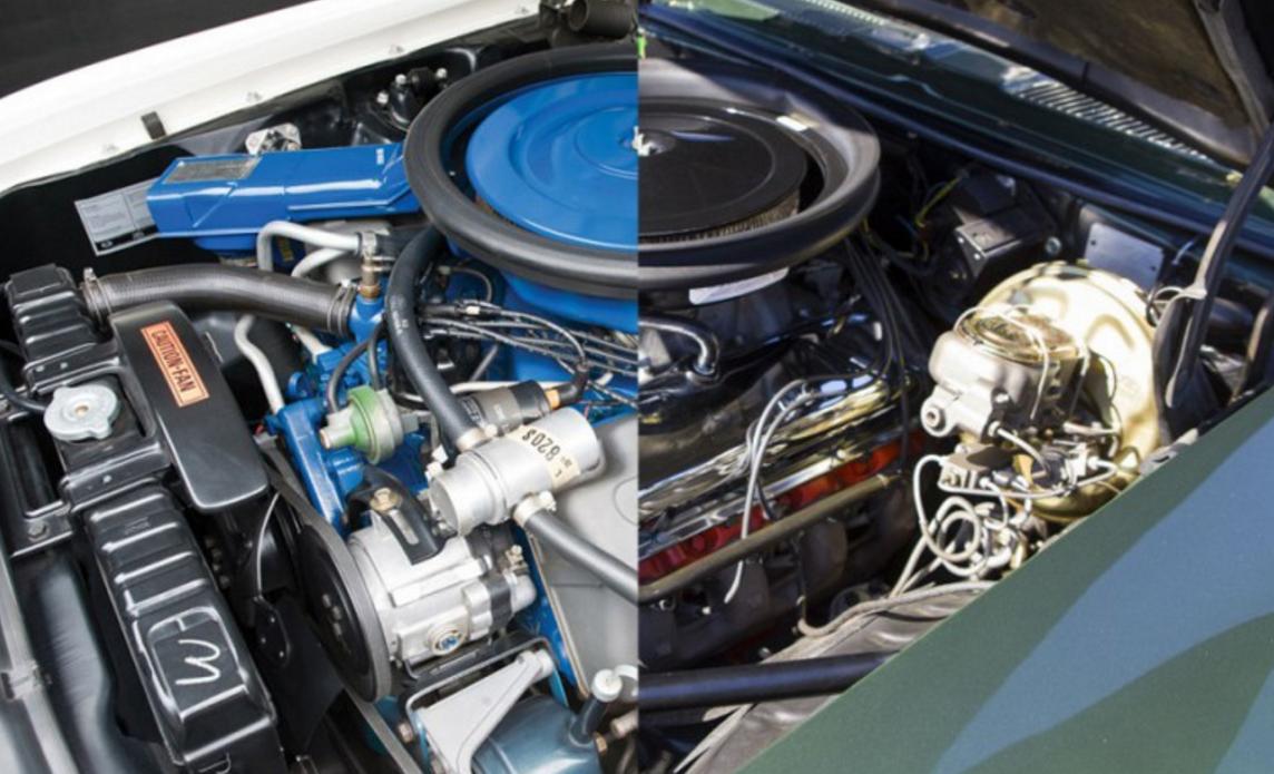 '69 Showdown: Ford Mustang Boss 429 vs. Chevrolet Camaro