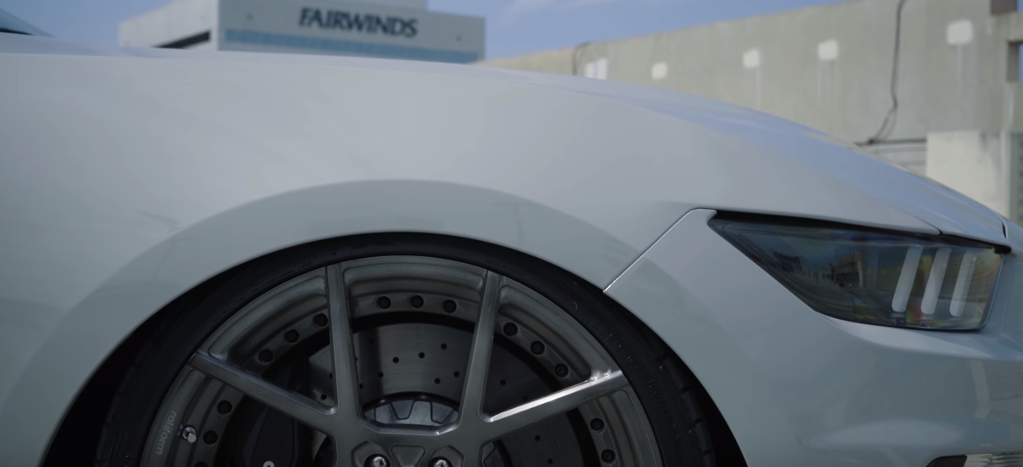 This Is The First Shelby GT350 on Air Suspension