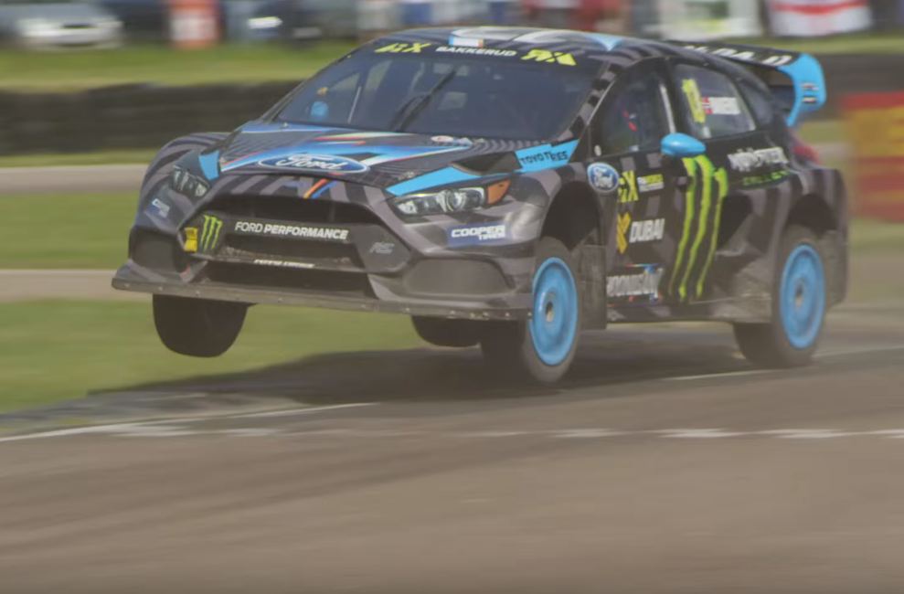Focus RS RX in World Rally Cross Action at Lydden Hill