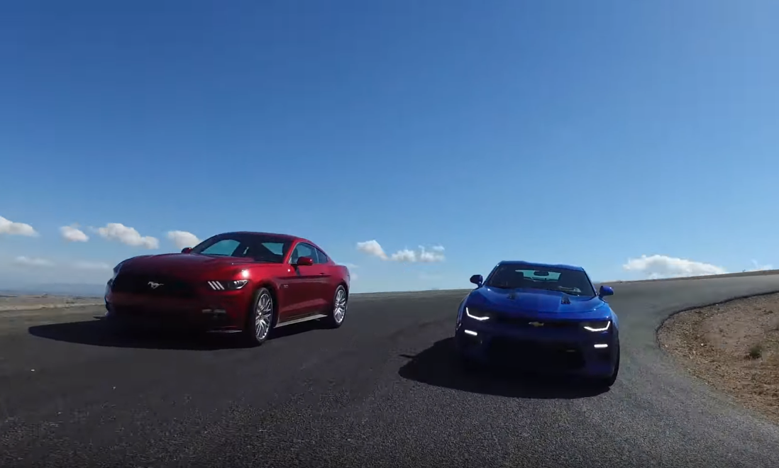 The One That Matters: 2016 Ford Mustang GT vs 2016 Chevrolet Camaro SS