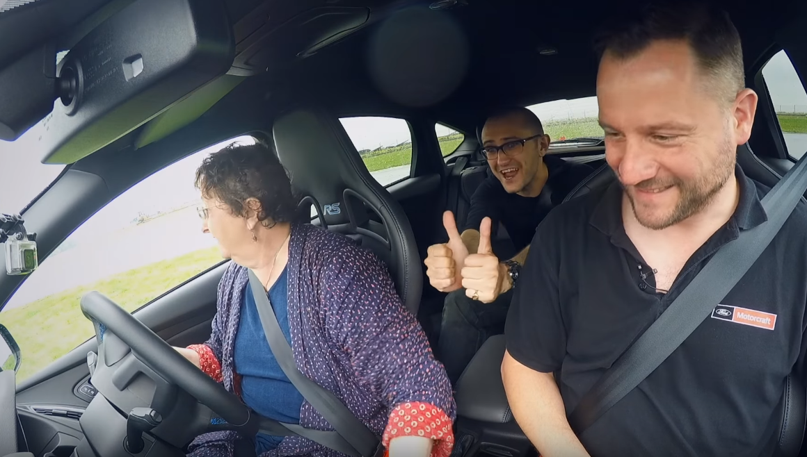 Can Your Mom Drift the Focus RS?