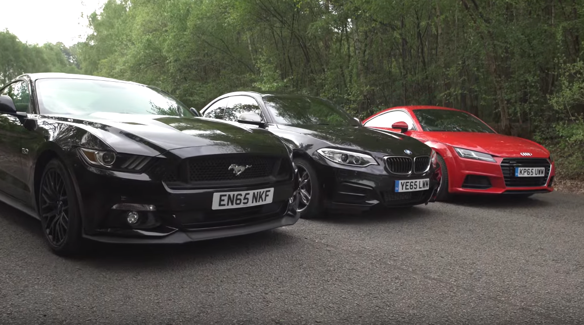 Can the Ford Mustang Topple Europe's Venerable Sport Coupes?