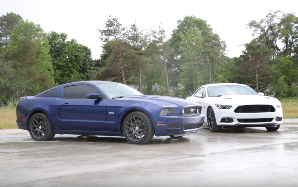 Mustang GT: Old vs New