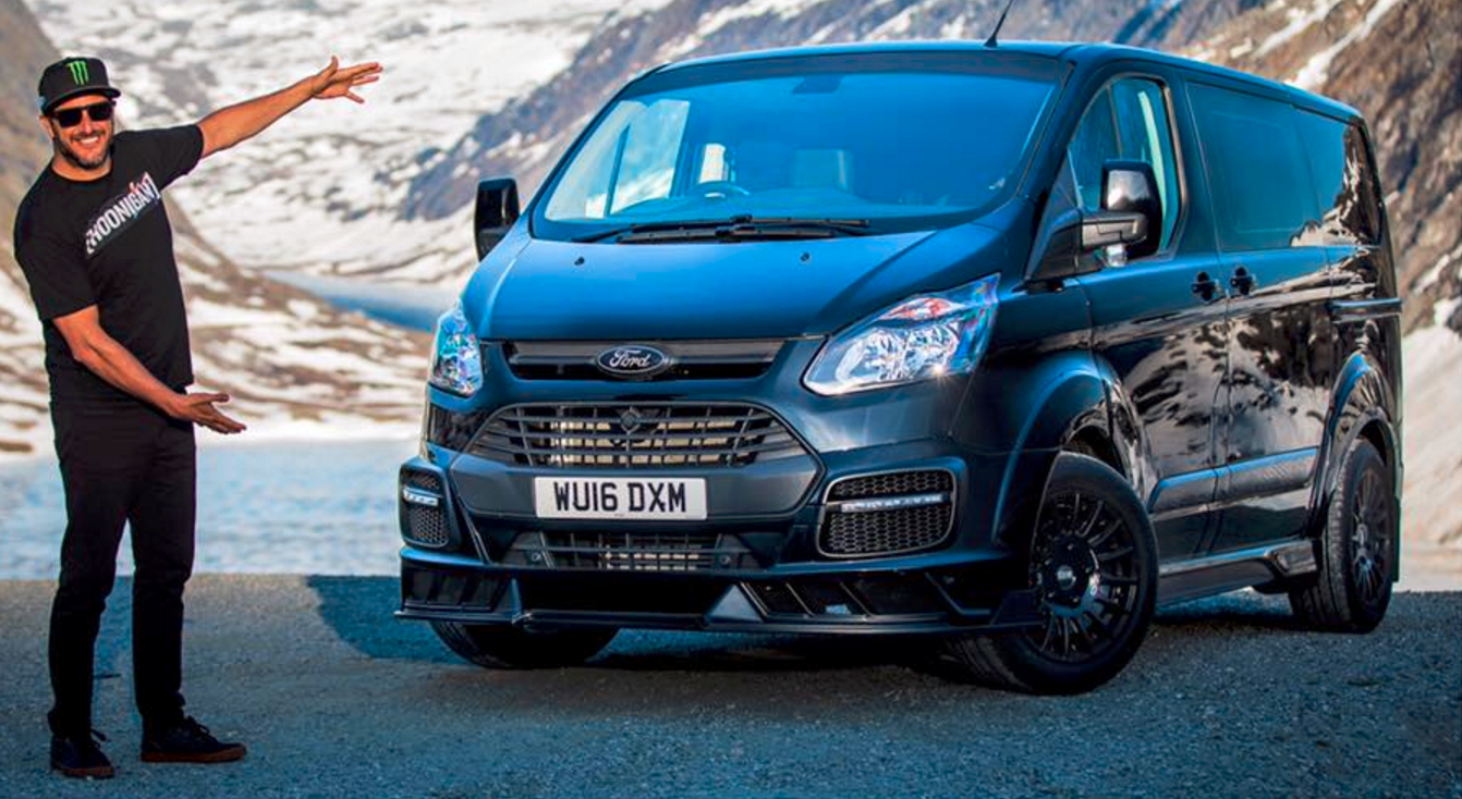 There's Now a Ken Block Signature Ford Transit Van…
