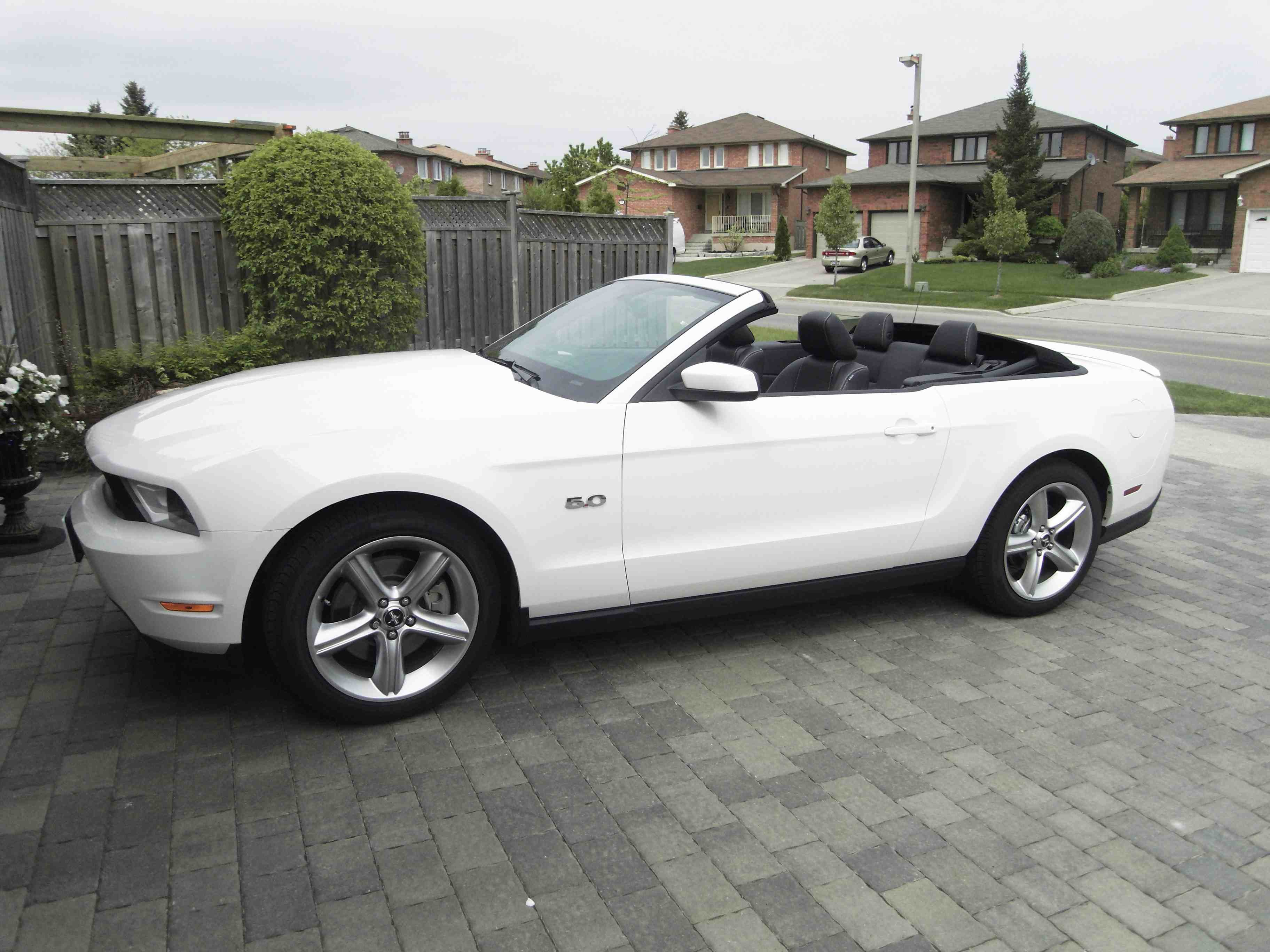 2012 mustang gt performance white w stripes ford. Black Bedroom Furniture Sets. Home Design Ideas