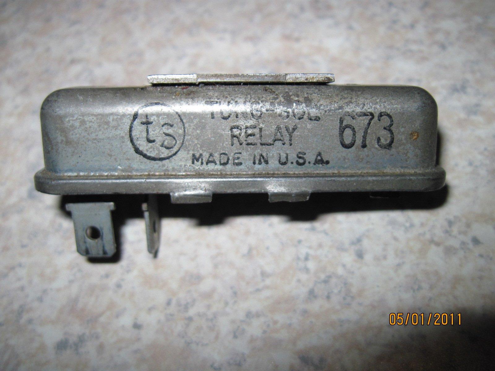 Seat Belt Relay 66-67