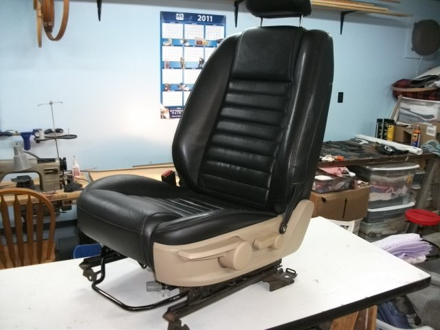 Santa Fe Ford >> Replacing drivers seat foam on standard seat...how to ...