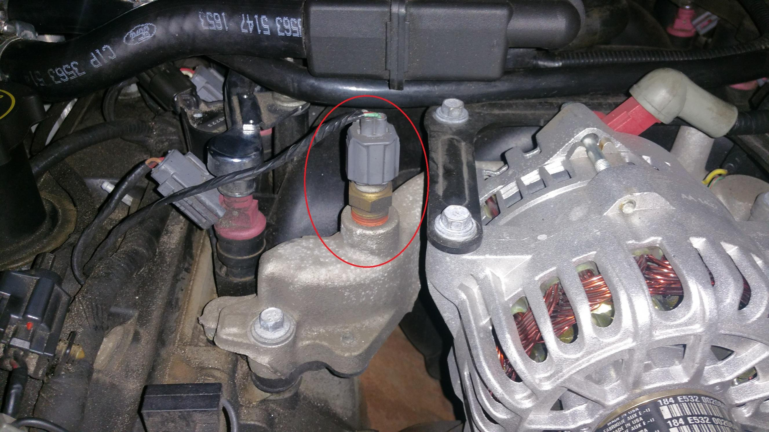 D What Sensor Mustang Gt Sensor on Ford 4 6 Coolant Temp Sensor Location