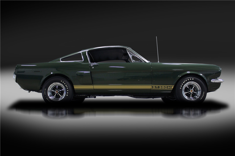 Green '66 Shelby GT350-H is About as Rare as They Come