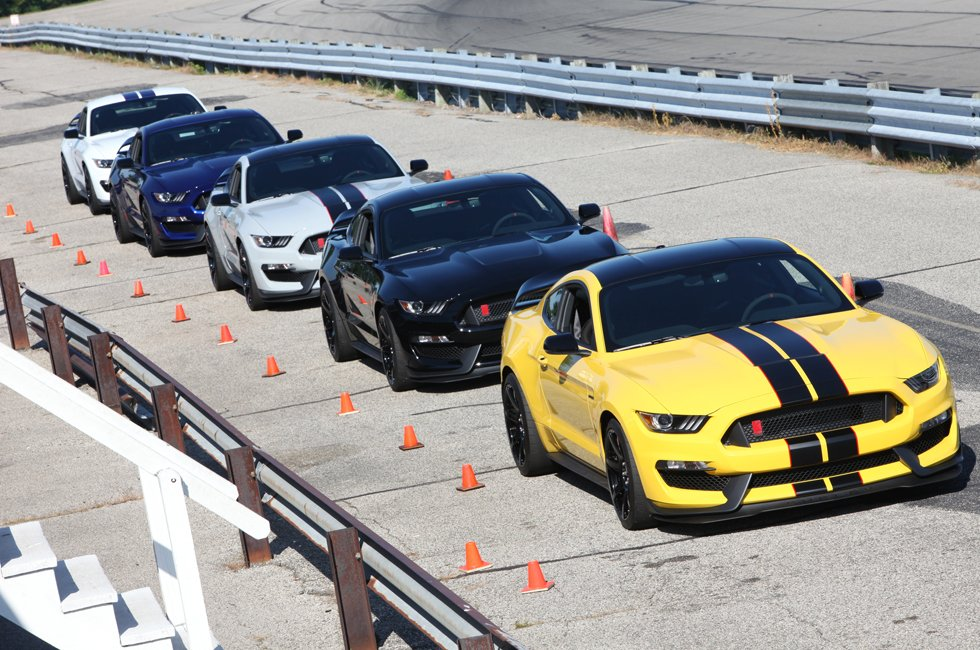 Shelby GT350R Hits the Track