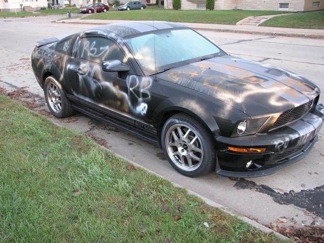 Menace To Society Mustang