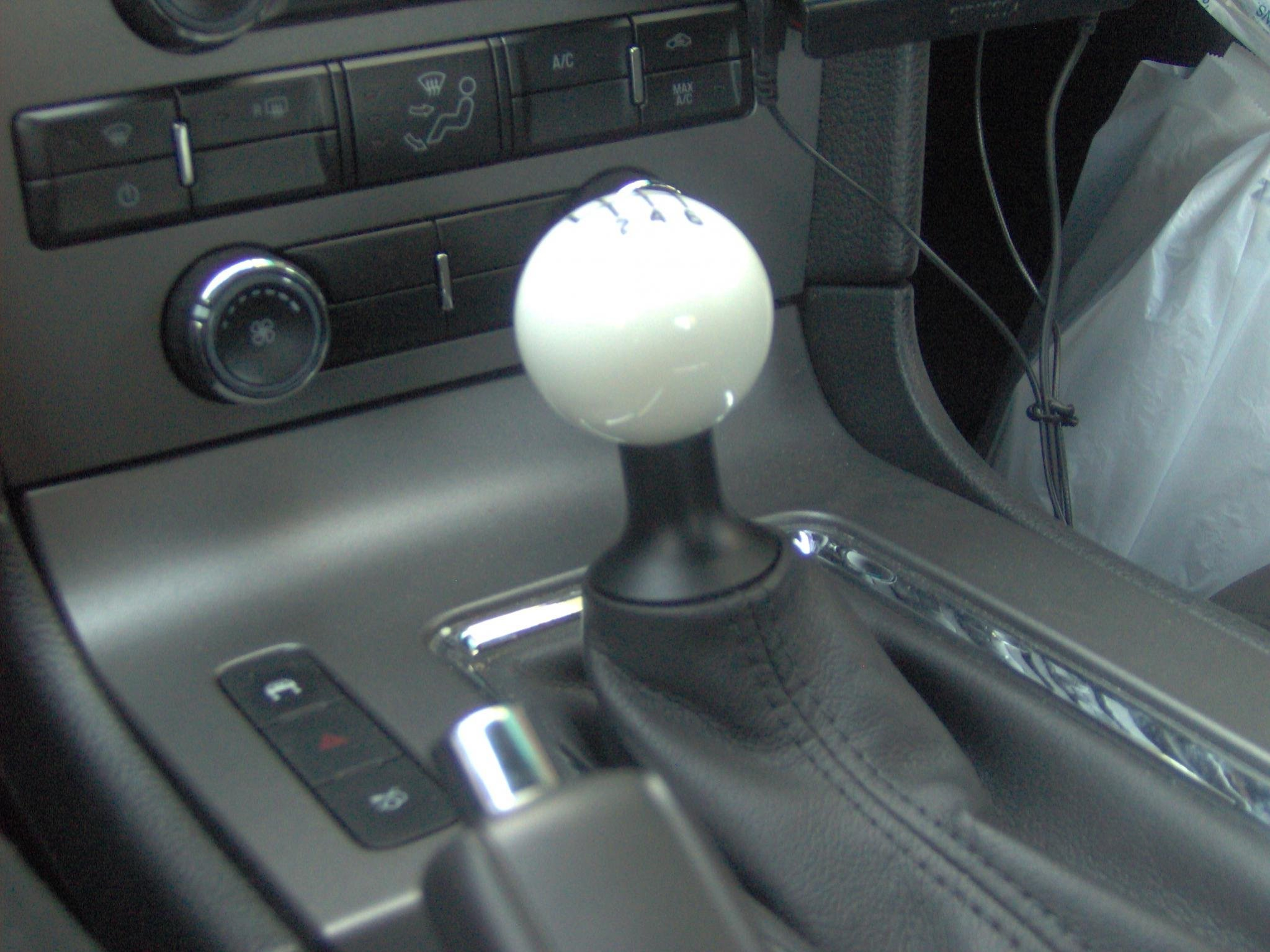 Mustang gt shift knob replacement Ford Mustang Forum