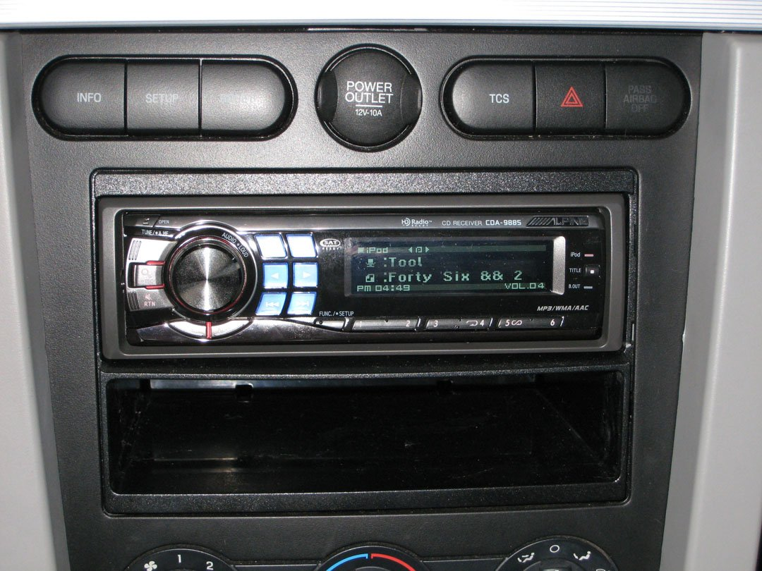 Single din to double din conversion