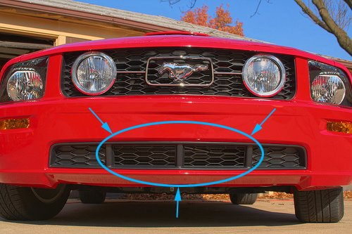 Cdc Aggressive Chin Spoiler Problem Ford Mustang Forum