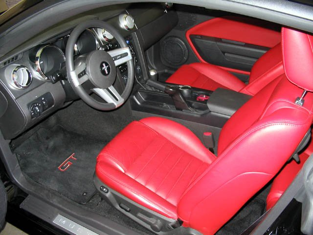 red interior thoughts page 4 ford mustang forum