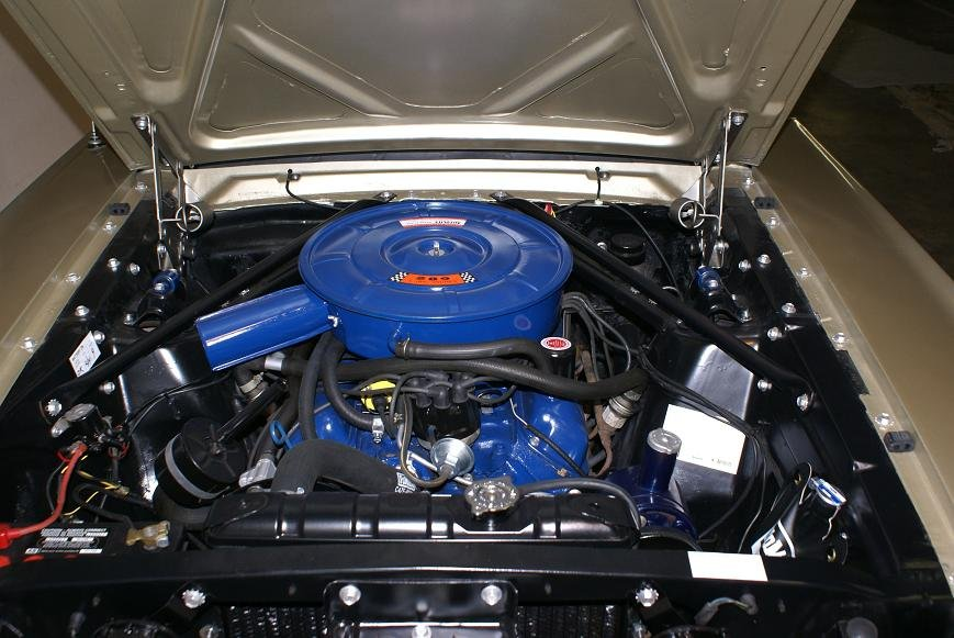 Should 66 coupe smog pump go or stay ford mustang forum click image for larger version name smog 2 publicscrutiny Gallery