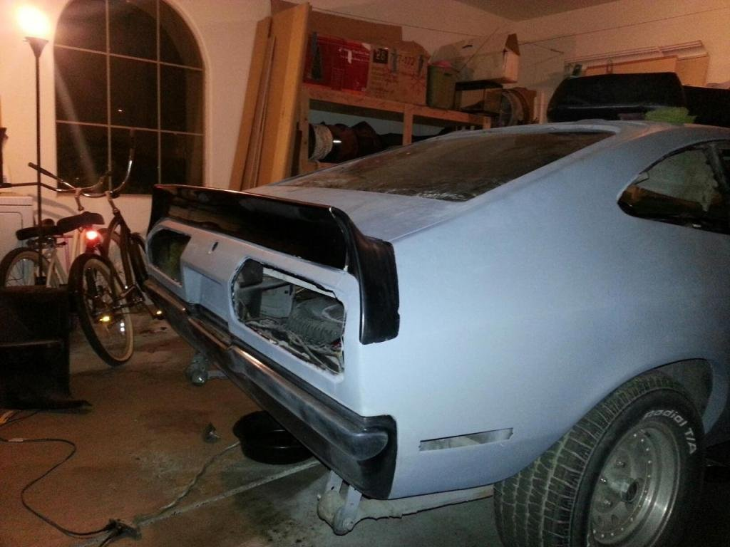 All Types mustang 2 pictures : Mustang II Rear Spoiler location - Ford Mustang Forum