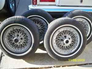 Wire Spoked Wheels On A 67 Ford Mustang Forum