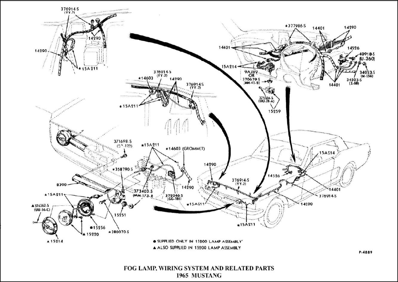 65    Mustang       Fog       Light       Wiring       Diagram         Wiring    Library