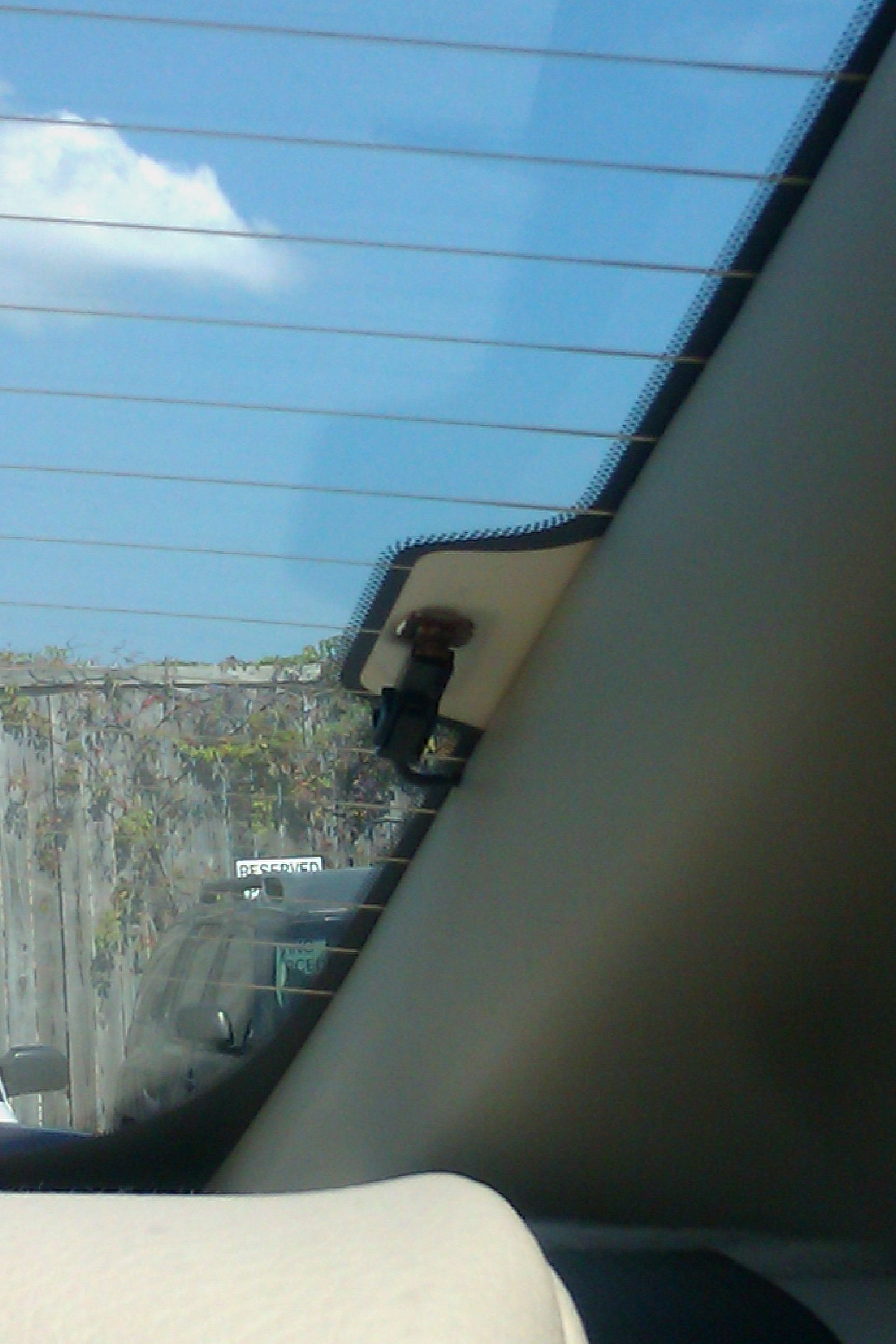Why don\'t all windows on the car have defroster wires in them? : answers