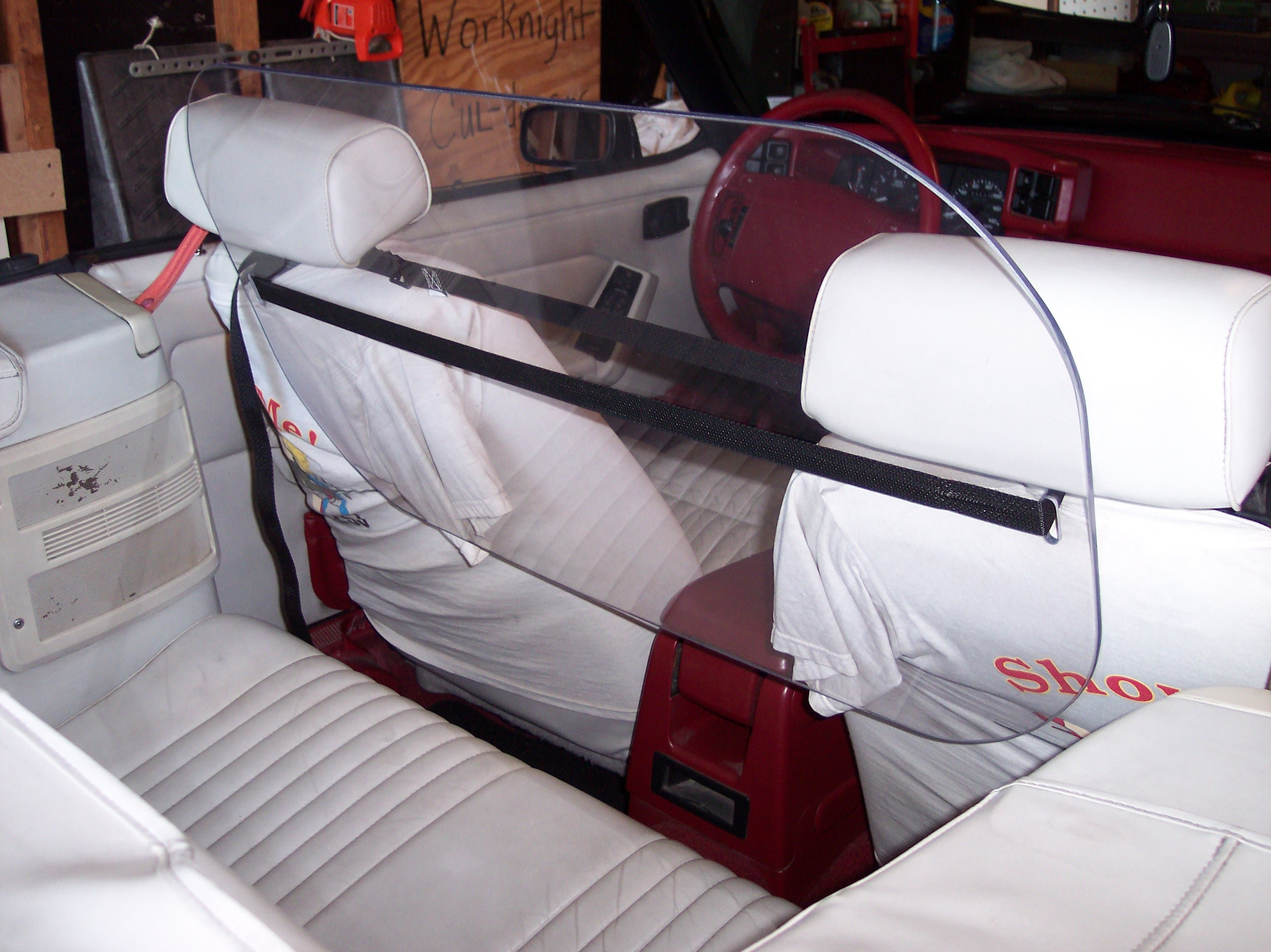 Regular mustang windscreen windblocker wind deflector windstop here s the pics attached thumbnails click image for larger version name stangwindgard 2