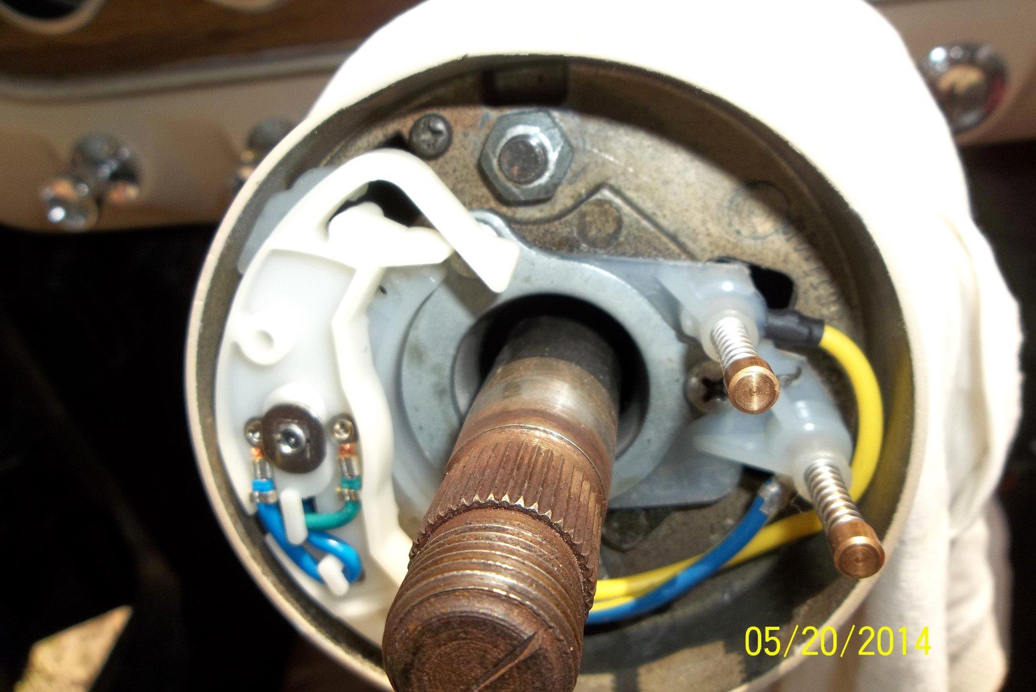 65 Mustang Steering Wheel and Steering Column     Ford