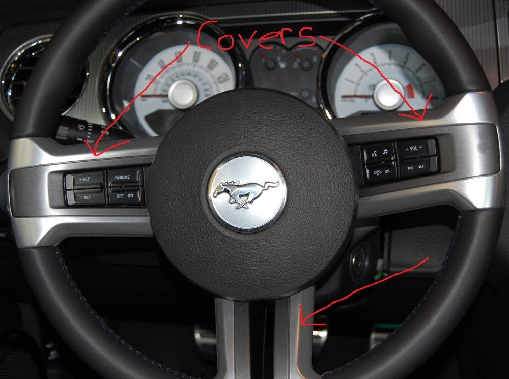 Steering Wheel Covers How To Remove Them Question Ford Mustang Forum