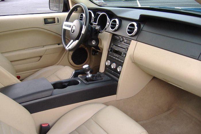 White Gt Tan Interior Ford Mustang Forum