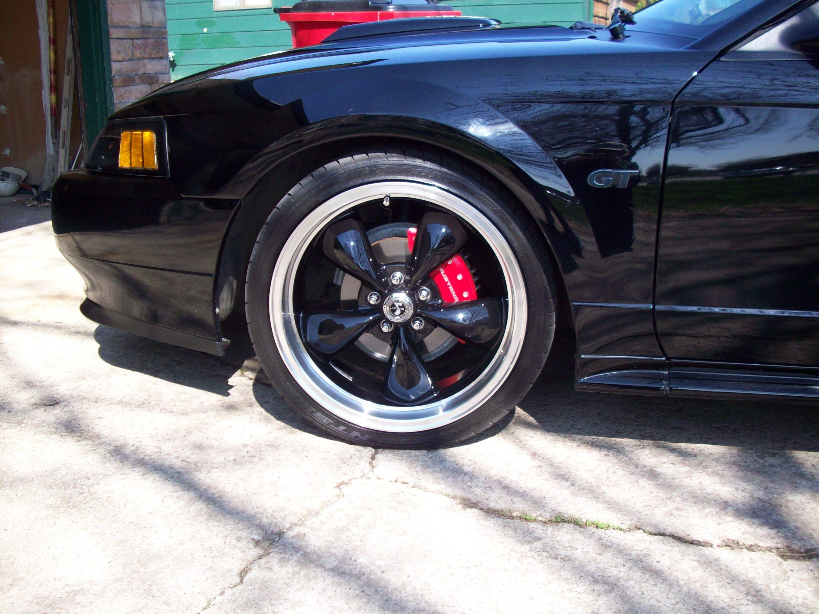 Best rims for gloss black Mustang? - Page 2 - Ford Mustang ...