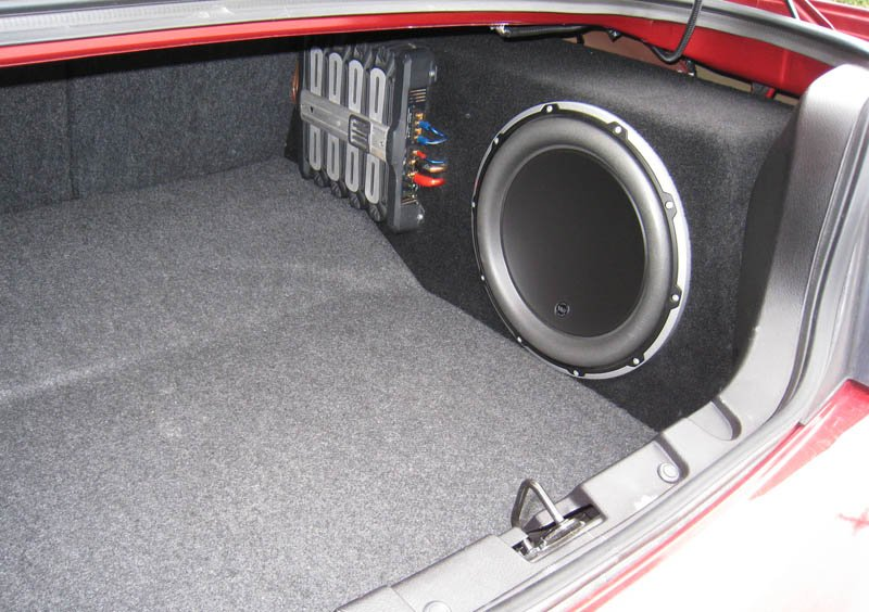 Where To Find Custom Subwoofer Enclosure For 2008 Mustang