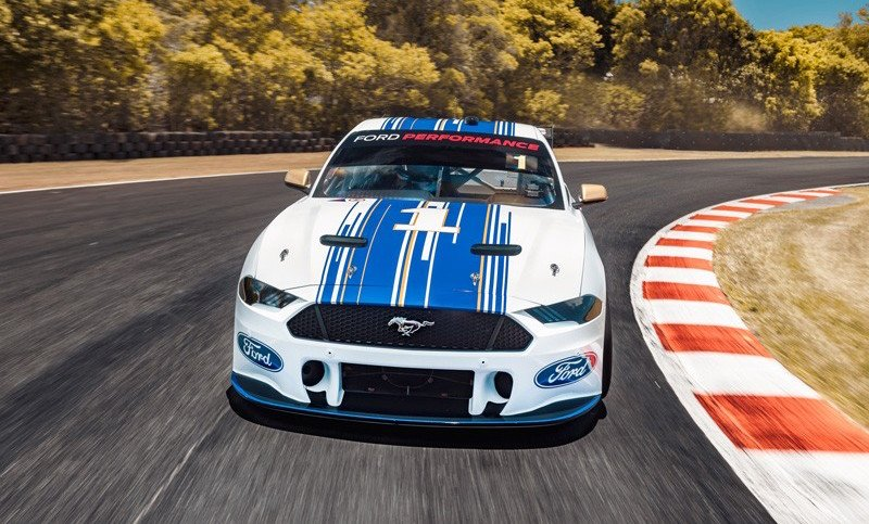 A Better Look At The Slightly Awkward Supercars Ford Mustang