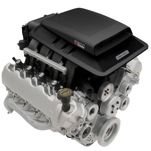 Mustang Mach 1 Supercharger Kit: E-Force Super Charger With Shaker Hood