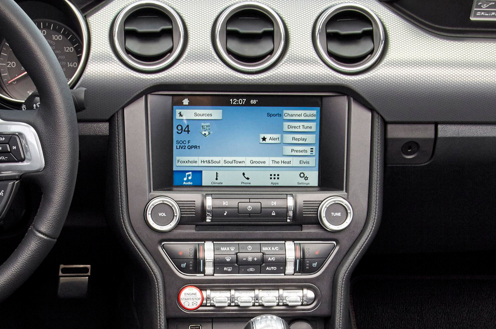 ford mustang sync connect